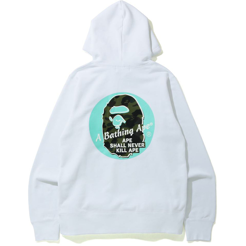A BATHING APE CIRCLE PULLOVER HOODIE MENS