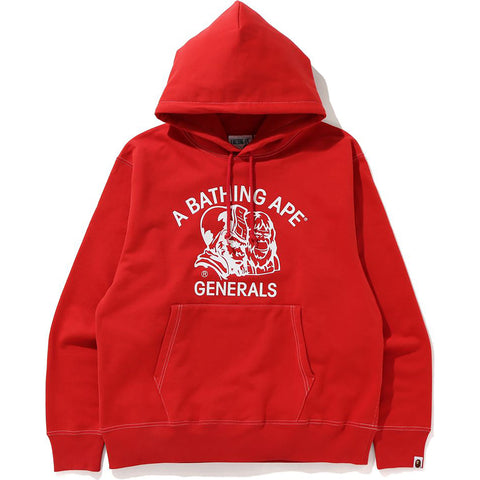 RELAXED CLASSIC GENERAL PULLOVER HOODIE MENS
