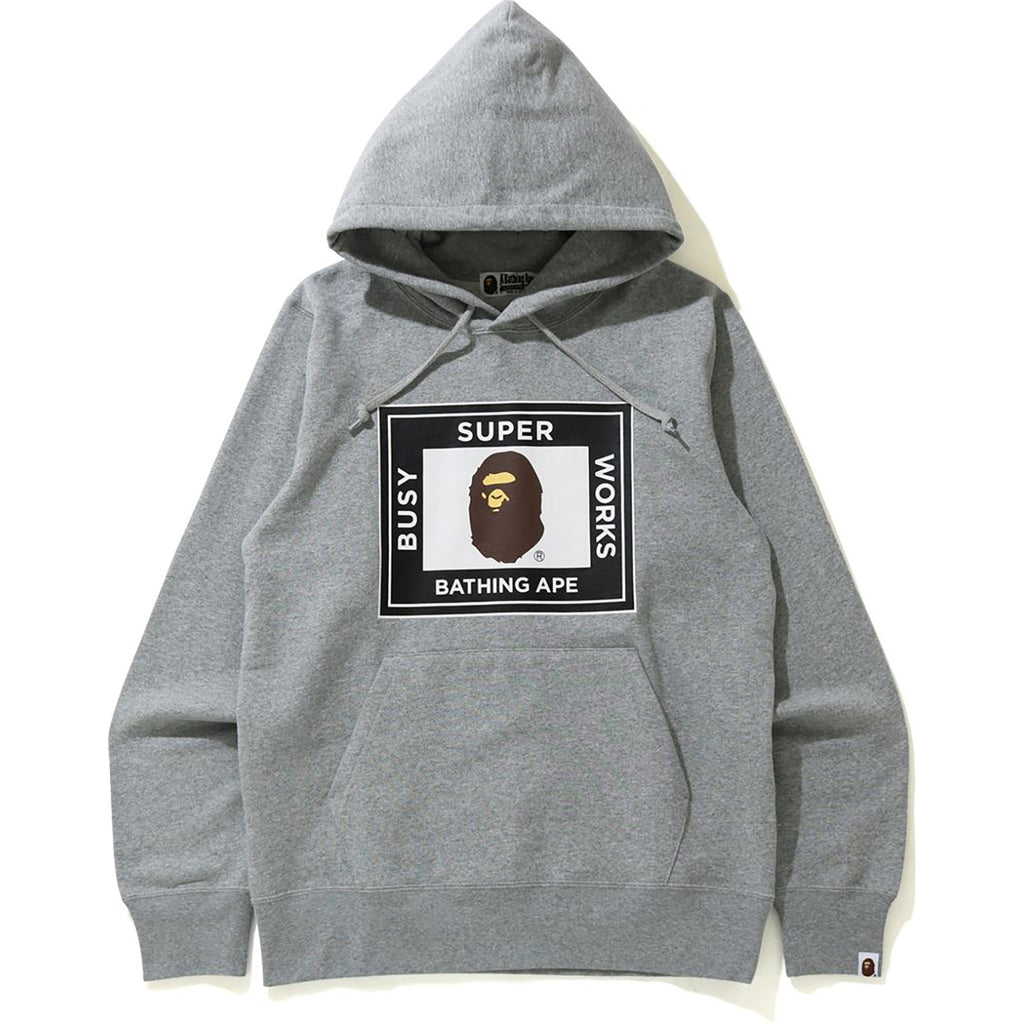 SUPER BUSY WORKS PULLOVER HOODIE MENS