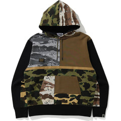 CRAZY CAMO RELAXED PULLOVER HOODIE MENS