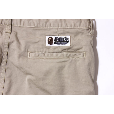 APE HEAD SLIM CHINO PANTS
