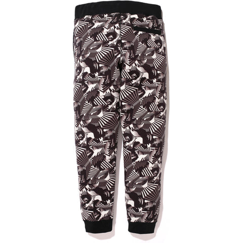 DAZZLE CAMO SLIM SWEAT PANTS