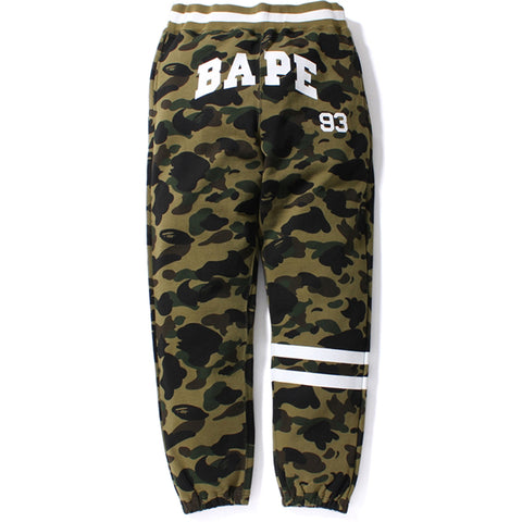 1ST CAMO BAPE SWEAT PANTS