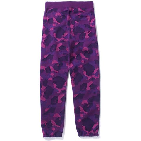 COLOR CAMO JACQUARD SWEAT PANTS