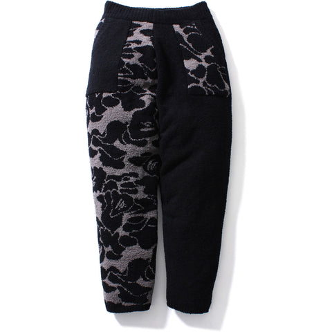 SOLID ABC JACQUARD KNIT PANTS / MENS