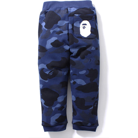 COLOR CAMO SWEAT PANTS /K