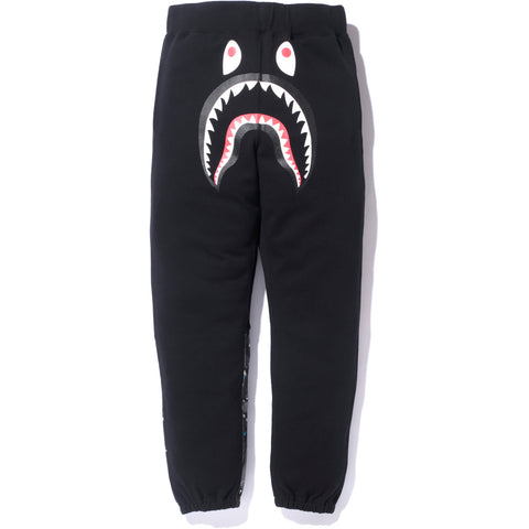 SPACE CAMO SHARK SWEAT PANTS / MENS