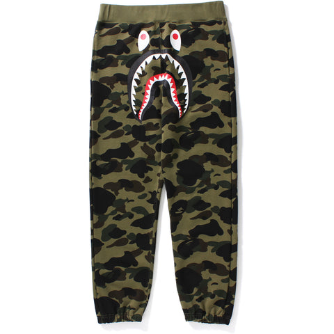 1ST CAMO SHARK SWEAT PANTS M