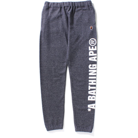 A BATHING APE SWEAT PANTS LADIES