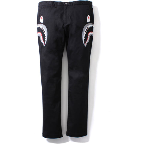 SIDE SHARK STRETCH CHINO PANTS