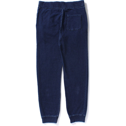 INDIGO SLIM SWEAT PANTS M