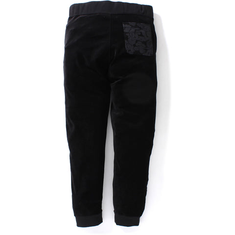 SHARK VELOUR JERSEY SLIM PANTS MENS