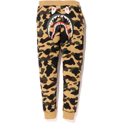1ST CAMO SHARK SLIM SWEAT PANTS LADIES