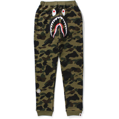 1ST CAMO SHARK SLIM SWEAT PANTS JR KIDS