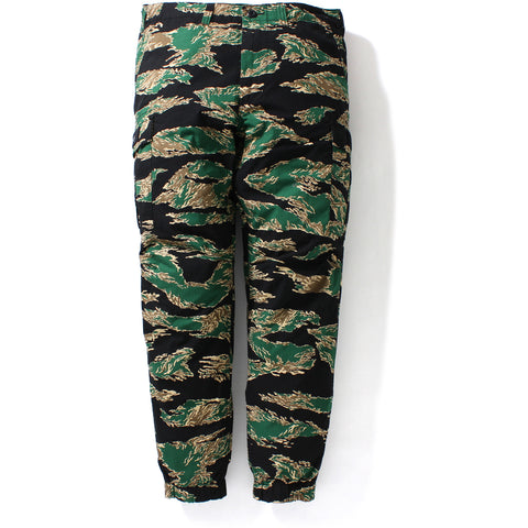 TIGER CAMO 6POCKET JOGGER PANTS MENS