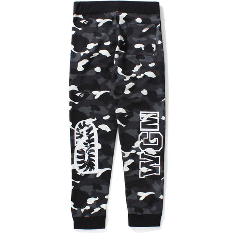 CITY CAMO SHARK SLIM SWEAT PANTS MENS