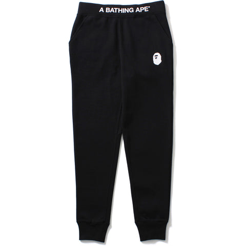 A BATHING APE TAPERED SWEAT PANTS LADIES