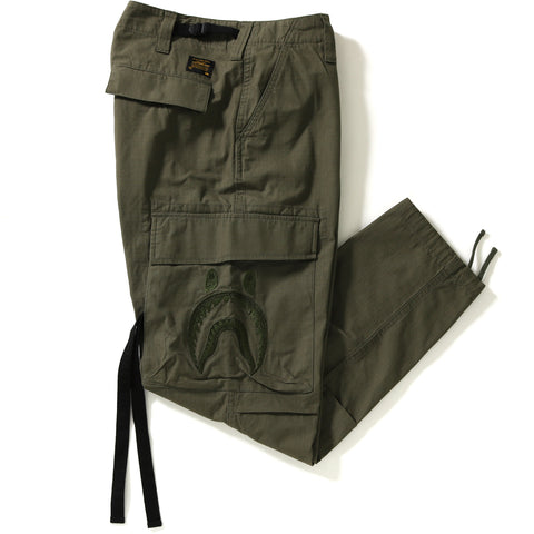 SIDE SHARK WIDE 6POCKET PANTS MENS