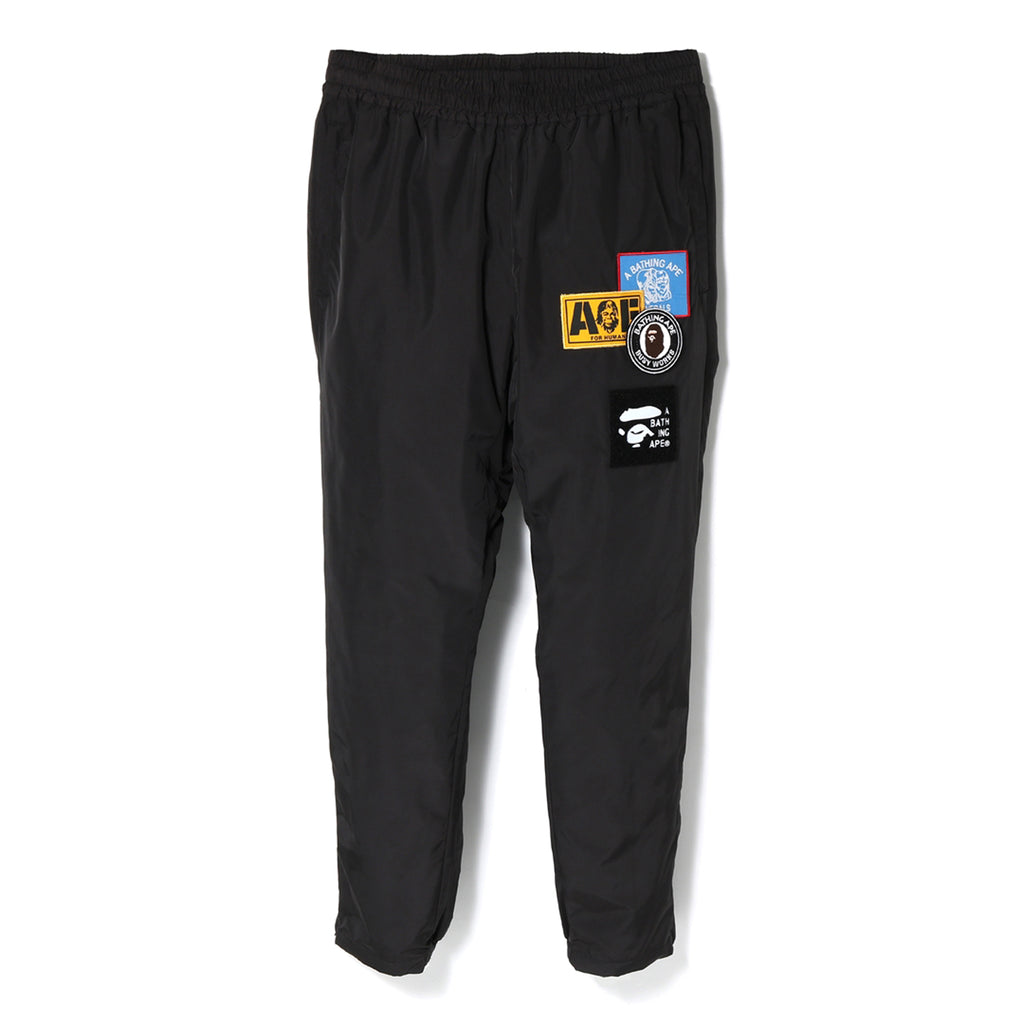 PATCHED TRACK PANTS MENS