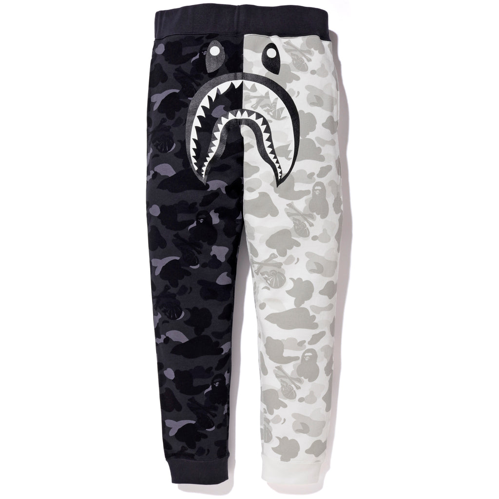 cc5cfb88a BAPE NBHD CAMO SHARK SLIM SWEAT PANTS MENS | us.bape.com