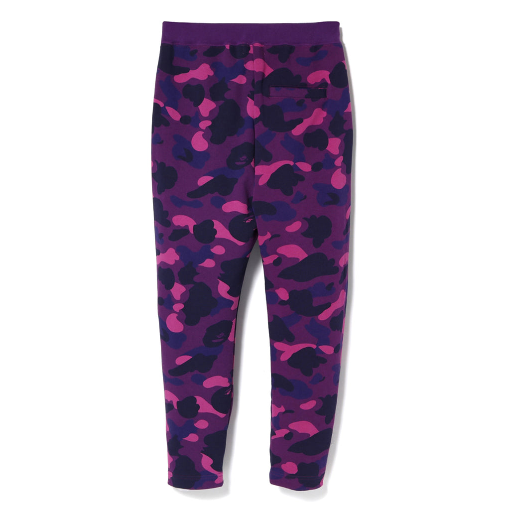 COLOR CAMO TAPERED SWEAT PANTS LADIES
