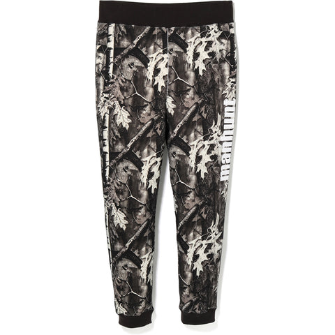 BAPE FOREST CAMO SLIM SWEAT PANTS MENS