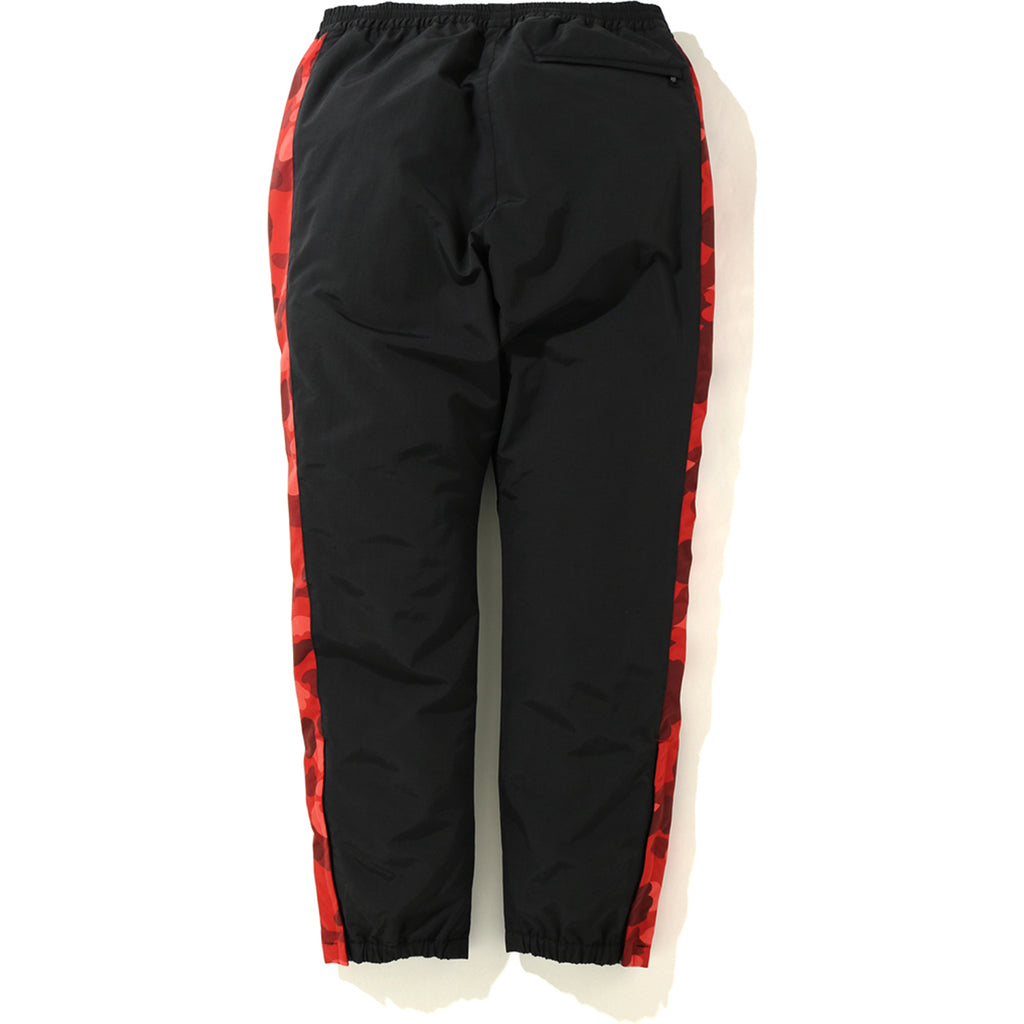 COLOR CAMO LINE TRACK PANTS MENS