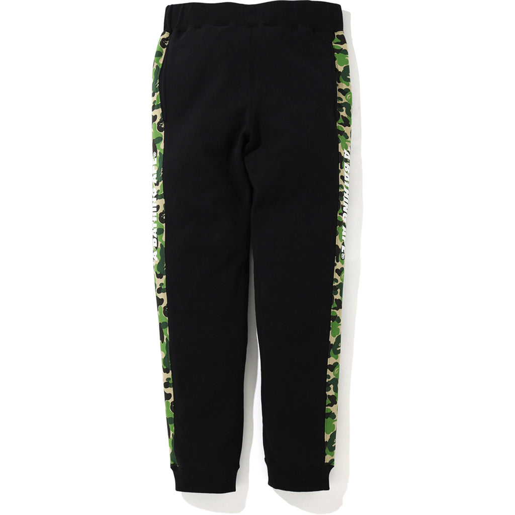 ABC CAMO SIDE LINE SLIM SWEAT PANTS MENS