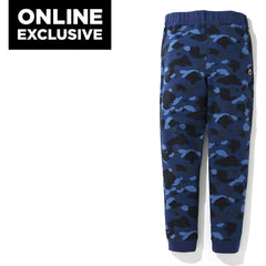 COLOR CAMO ONE POINT SLIM SWEAT PANTS MENS