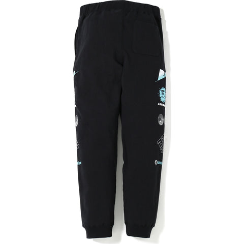 A BATHING APE SLIM SWEAT PANTS MENS