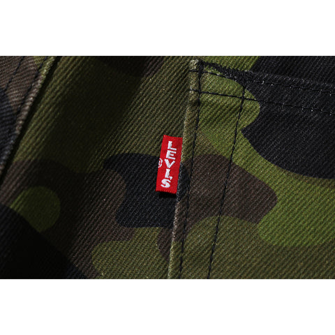 BAPE X LEVI'S COLOR CAMO 501 '93 MODEL MENS
