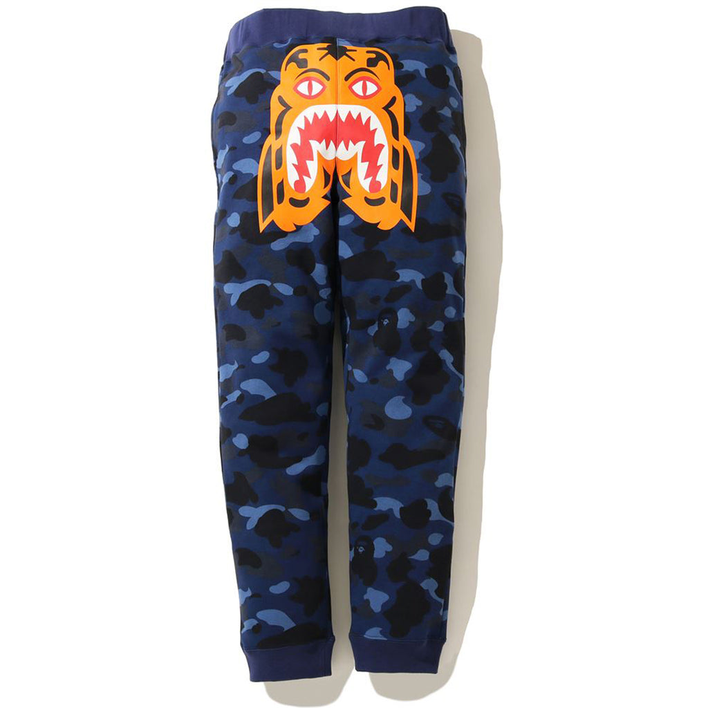 COLOR CAMO TIGER SLIM SWEAT PANTS MENS