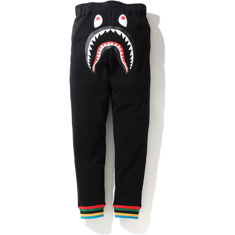 SHARK LINE RIB SLIM SWEAT PANTS MENS