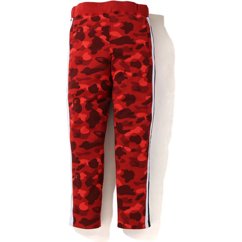 COLOR CAMO LOGO TAPE SEWAT PANTS MENS