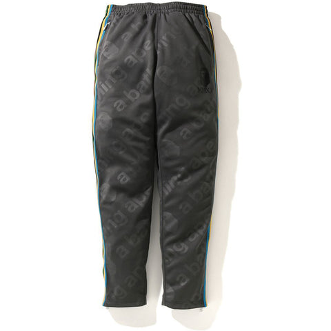A BATHING APE SIDE TAPE JERSEY PANTS MENS