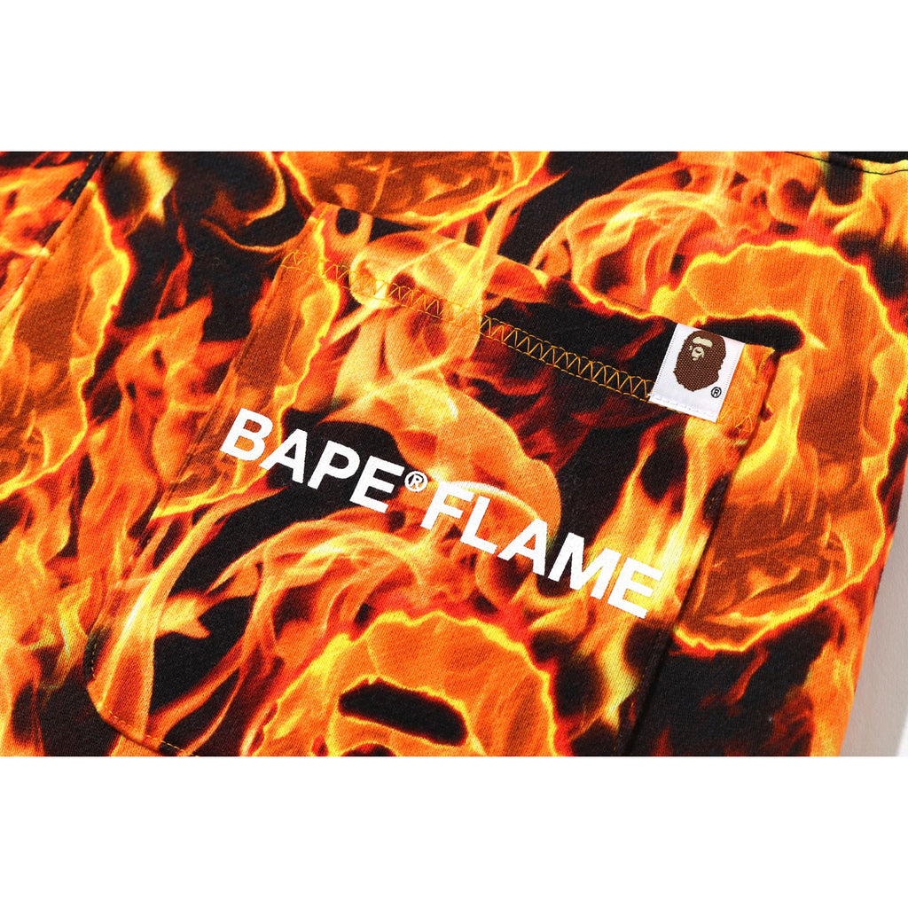 BAPE FLAME SLIM SWEAT PANTS MENS