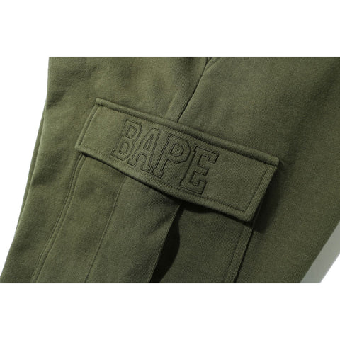 SIDE POCKET MILITARY SWEAT PANTS MENS