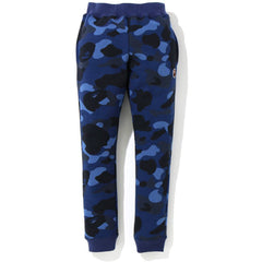 COLOR CAMO ONE POINT SLIM SWEAT PANTS KIDS