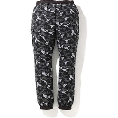 DIGITAL CAMO SIDE POCKET SWEAT PANTS MENS