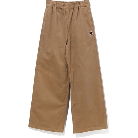 CORDUROY WIDE PANTS LADIES