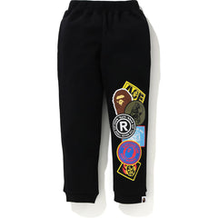 PATCHED PRINT SWEAT PANTS KIDS