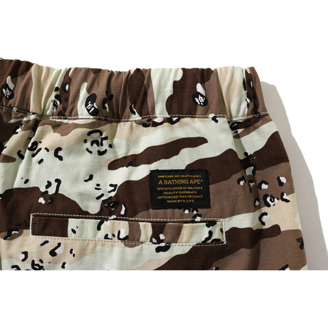 DESERT CAMO RELAXED MILITARY PANTS MENS