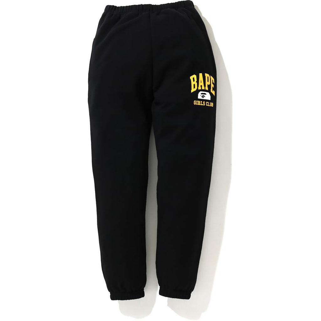BAPE GIRLS OVERSIZED SWEAT PANTS LADIES