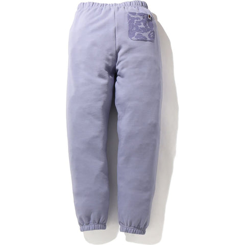 APE HEAD ONE POINT OVERSIZED SWEAT PANTS LADIES