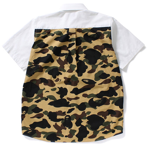 1ST CAMO APPLIQUE BD S/S SHIRT