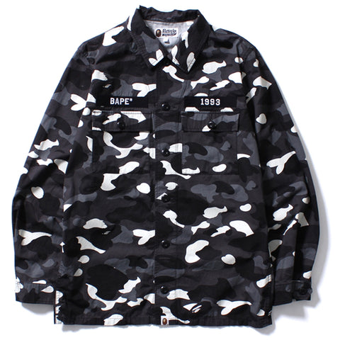 CITY CAMO ARMY SHIRT