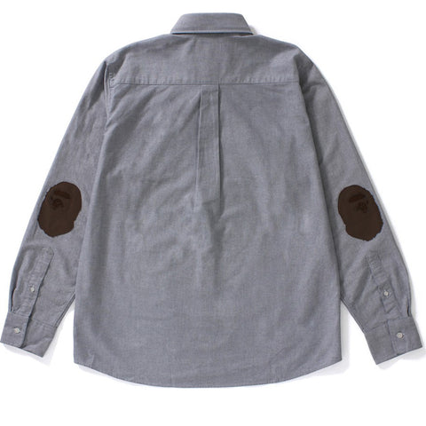 BAPE APPLIQUE OXFORD BD SHIRT