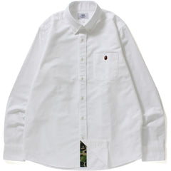 MR PATTERN OXFORD BD SHIRT M