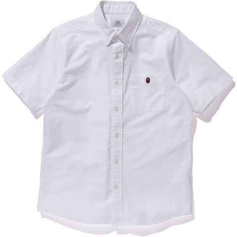 APE HEAD ONE POINT OXFORD BD SHIRT MENS