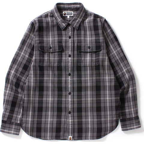SHARK FLANNEL CHECK SHIRT MENS